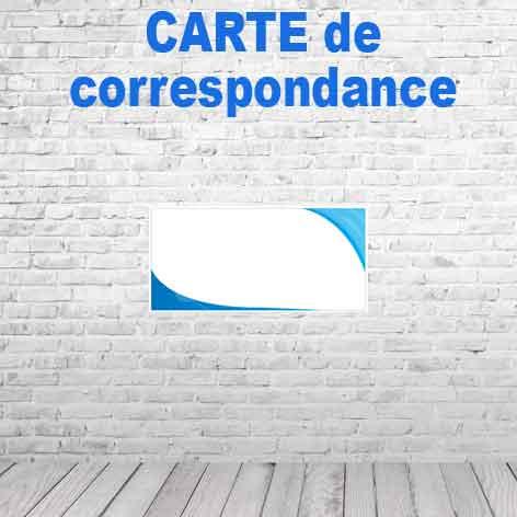 500 Carte De Correspondance Simple10x21cm 350gr Demi Mat Recto